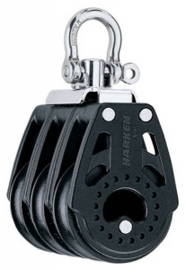 Harken Carbo Blok 40 mm tripel, svirvel