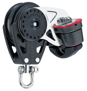 Harken Carbo Blok 40 mm enkelt , Carbo-Cam Cam-Cle