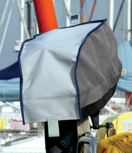 Blue Performance Outboard Cover 5