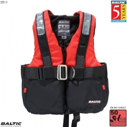 Offshore Sejlervest m. sele-Rozzo/Sort-XSmall-58-78 cm. bryst